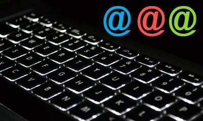Création d'une adresse email