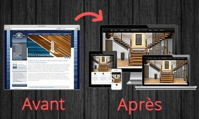 Refonte / Redesign de site